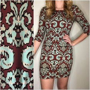 The Limited Patterned Bodycon Dress